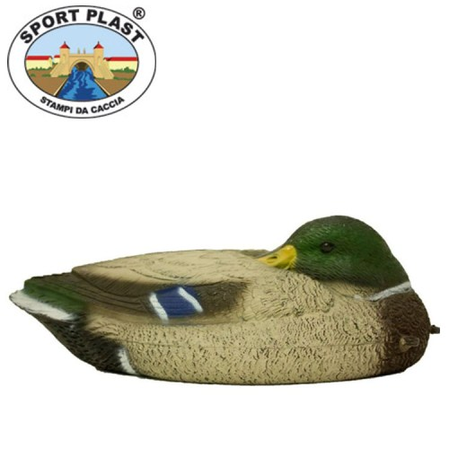 Sleeping Mallard Decoy