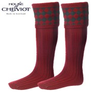 House of Cheviot Chessboard Red