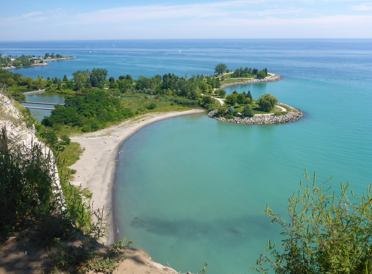 Scarborough Bluffs, beleza fora do radar turístico