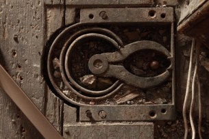 picture of old Door Mechanism