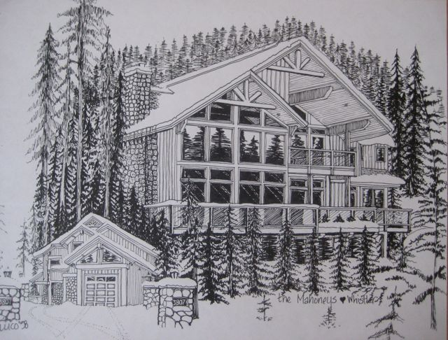 Freehand Architectural Drawing