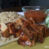 Malaysian Black Pepper Chicken Satay