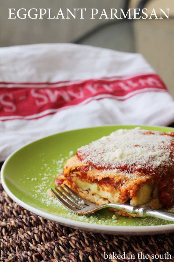 Classic Eggplant Parmesan - Baked in the South
