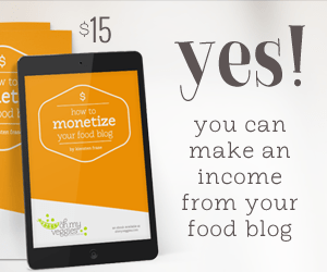 How to Monetize your Food Blog