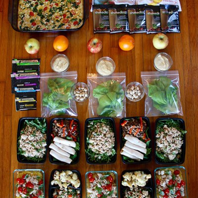 Clean Eating Meal Plan with Printable Shopping List