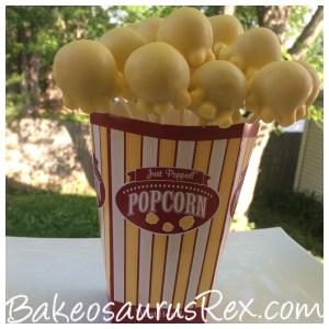 Popcorn Cake Pop