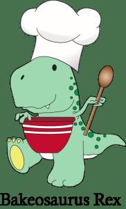Bakeosaurus Rex Logo