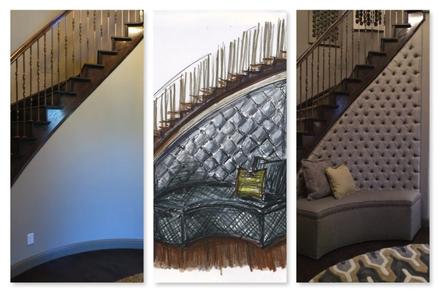 Collage of Banquette