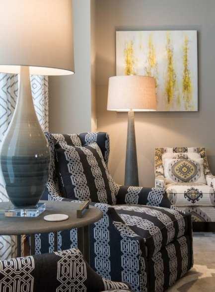 Frisco Interior designer living room modern