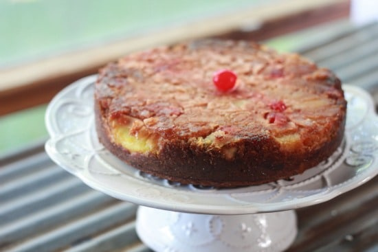 Paleo Pineapple Upside-Down Cake