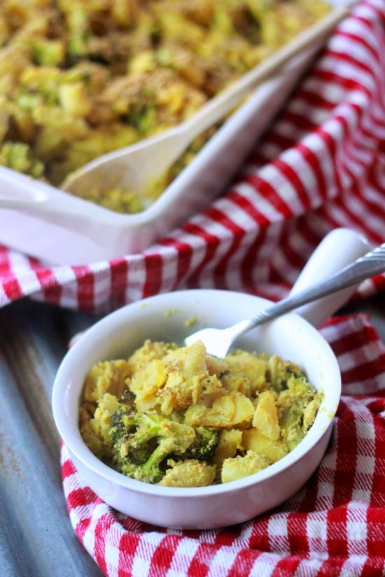 Paleo Broccoli Cheese Soup with Pasta Shells