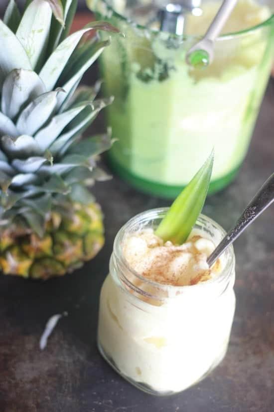 One Ingredient Pineapple Sorbet
