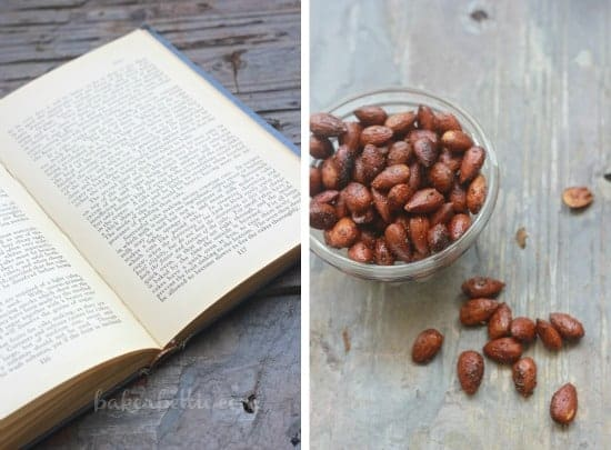 Sweet and Spicy Smoked Almonds