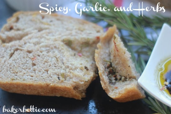 Spicy Garlic and Herb Bread