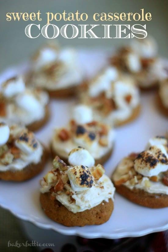 Sweet Potato Casserole Cookies