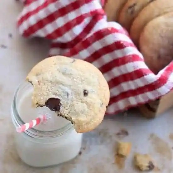 Chocolate Chip Cookies without Baking Soda or Baking Powder
