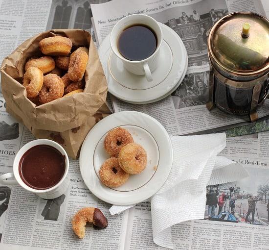 Baked Cinnamon Sugar Mini Donuts