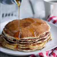 Back To 'Bake'sics: 5 Ingredient Classic Pancakes