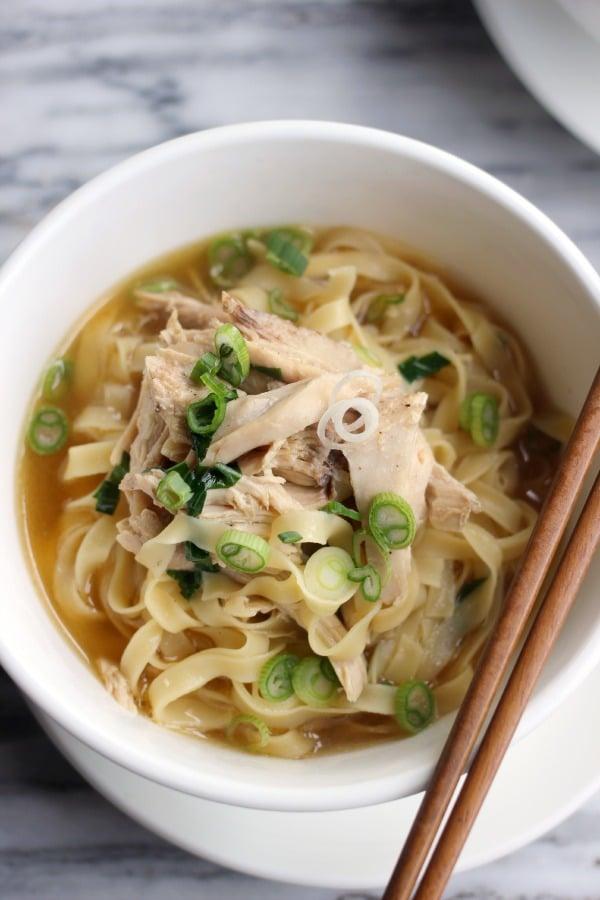 Chicken Noodle Soup-Pho Fusion- Baker Bettie