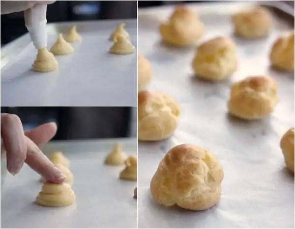 How to Make Profiteroles- Baker Bettie