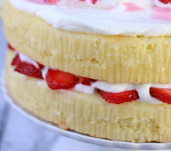 Fluffy Classic Yellow Cake- Baker Bettie