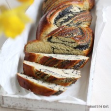 Poppy Seed Braided Loaf   Bake to the roots