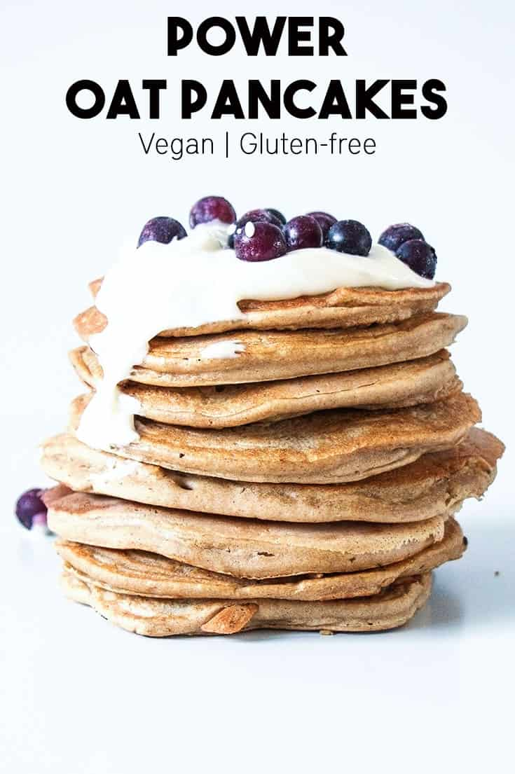 Power Oat Pancakes are the perfect way to start every day. They are ...