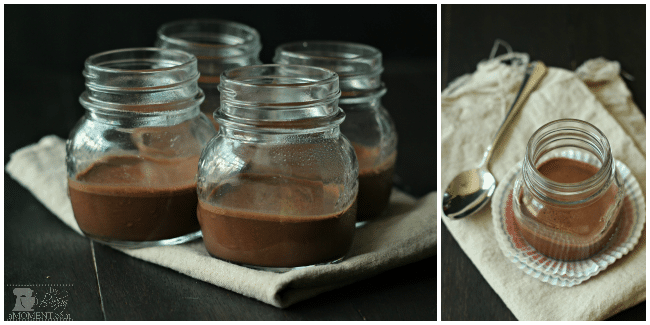 Chocolate Almond Panna Cotta