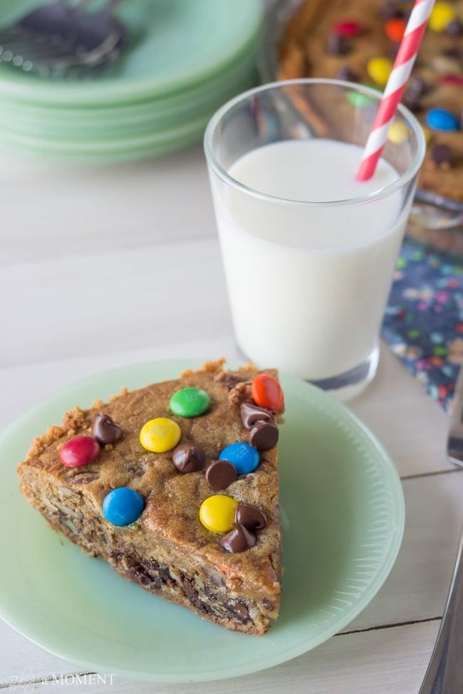 Chocolate Chip Cookie Crack Pie   Baking a Moment #chocchipcookieweek