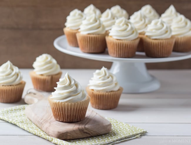 Even Simpler More Perfect Cupcakes | Baking a Moment