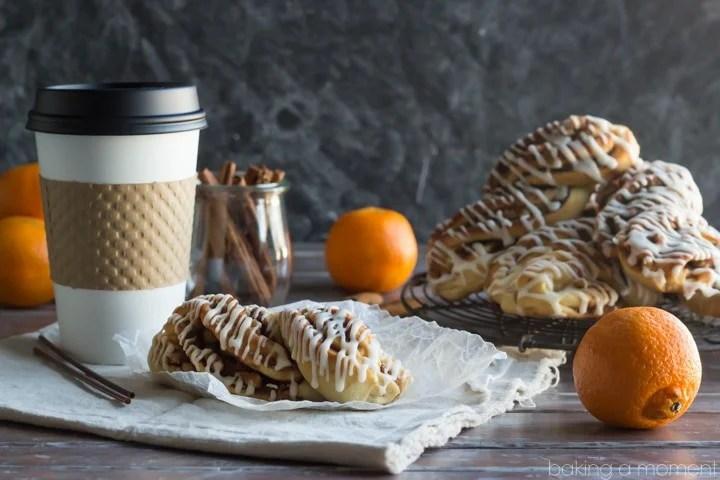 These Orange Walnut Braids are just like the Panera Pecan Braids- with a twist!