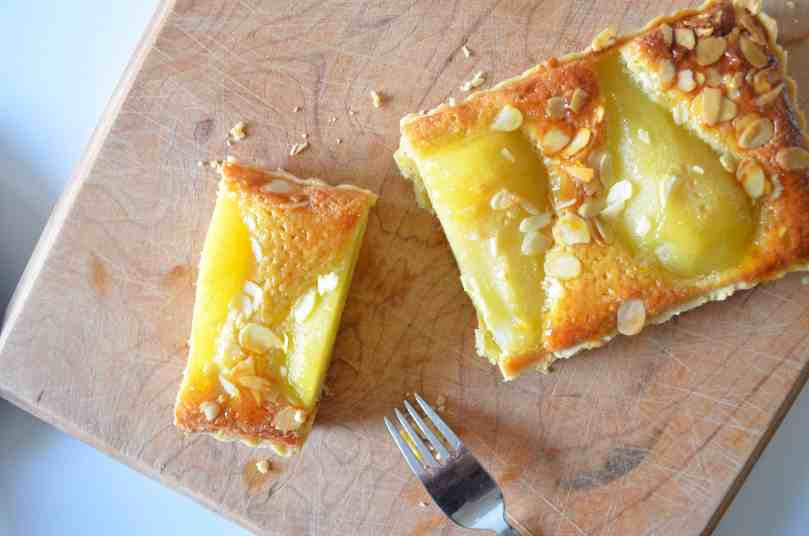 Pear and Frangipane Tart | Baking With Aimee