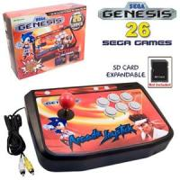 Stick Arcade SEGA Mega Drive Plug And Play + 26 Videojuegos + SD Puerto 27€