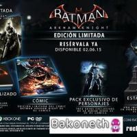 Batman: Arkham Knight Collector's Edition y Batman: Arkham Knight Edición Batmóvil