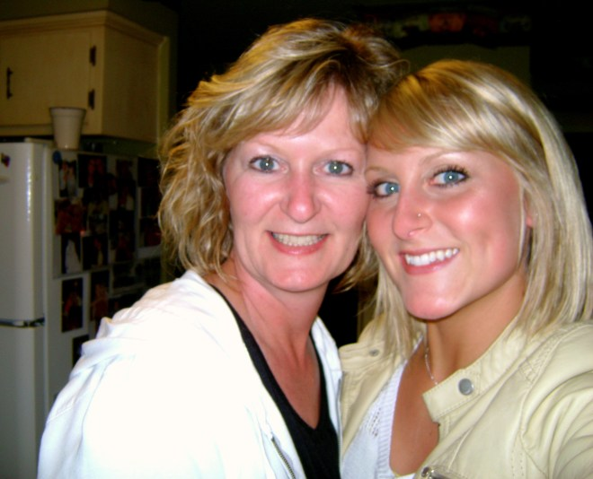 brit and mom