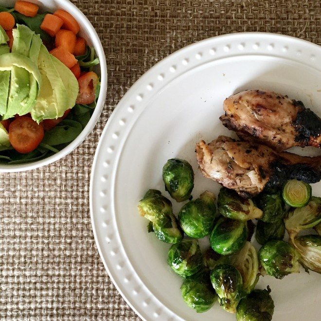 chicken brussel sprouts