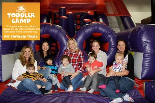 Toddler Camp Bounce