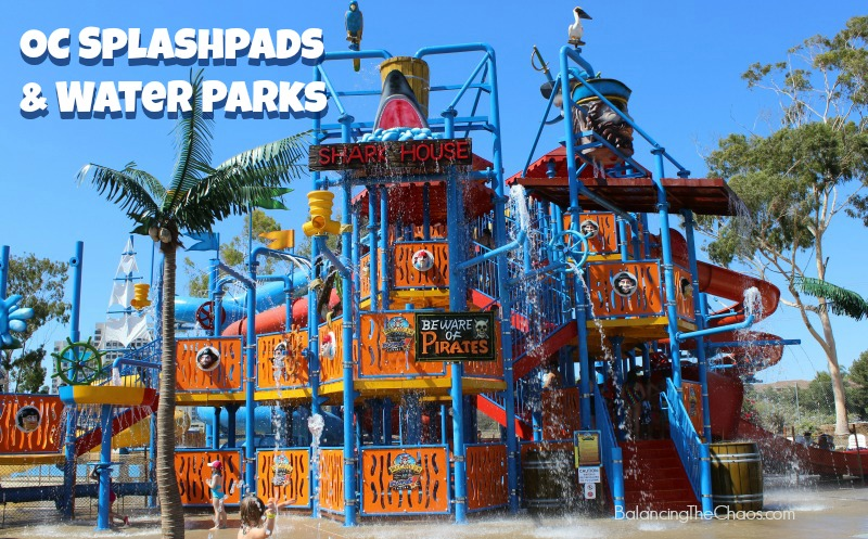 Orange County Splash Pads and Water Parks Opened For Summer 2016