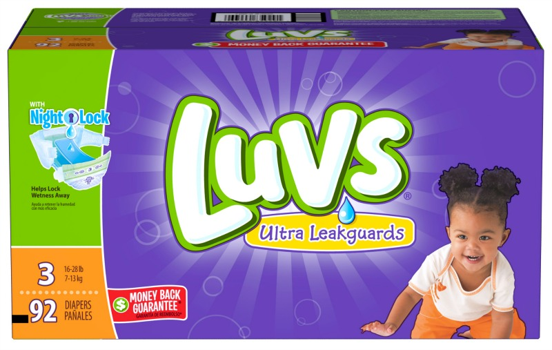 Double Up Diaper Savings with Luvs Coupon and Ibotta Offer + $100 Gift Card Giveaway  | @Luvs #ShareTheLuv #ad