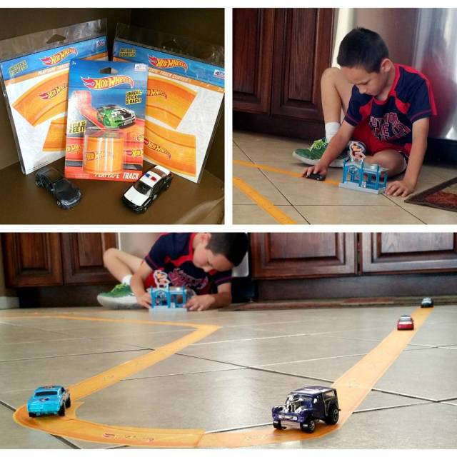 My handsome guy getting creative with HotWheels PlayTape Create yourhellip