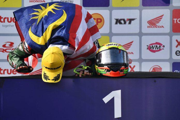 Sepak Terjang Azlan Shah Kamaruzaman, Penunggang BMW Juara Asia 1000cc!