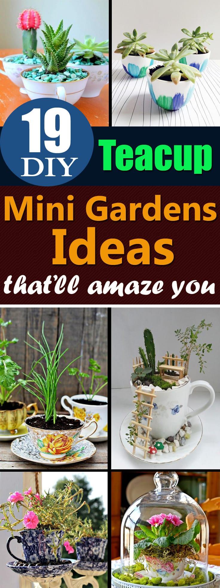 Particular Give A Second Life To Unused Teacups That Se Diy Teacup Diy Teacup Garden Ideas Teacup Planters Balcony Diy Small Garden Ideas Diy Small Space Garden Ideas garden Diy Mini Garden Ideas