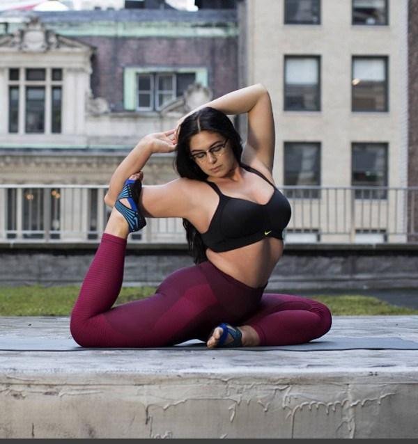 A instrutora de ioga Claire Fountain também foi convidada pela Nike (Foto: Reprodução Instagram)