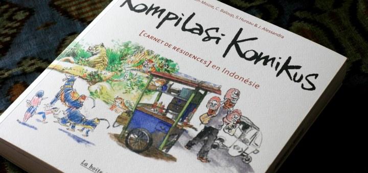 Livre Kompilasi Komikus Carnets de résidence en Indonésie - Balisolo, 2014_28