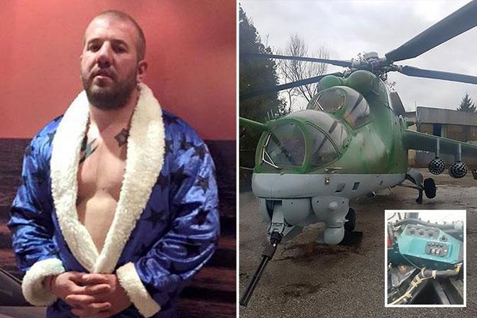 "Bugarska:  kupio helikopter da ""lovi"" migrante"