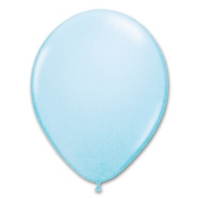 Pale Blue Latex Party Balloon 12 inch from Balloon Shop NYC