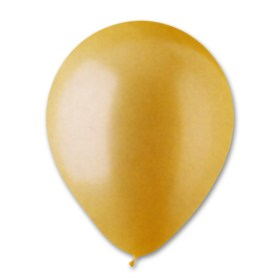 Gold Pearl Latex Party Balloon 12 inch from Balloon Shop NYC