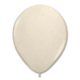 Vanilla Cream Latex Party Balloon 12 inch from Balloon Shop NYC