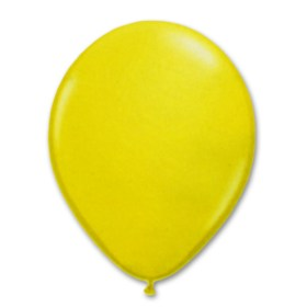 Yellow Latex Party Balloon 12 inch from Balloon Shop NYC