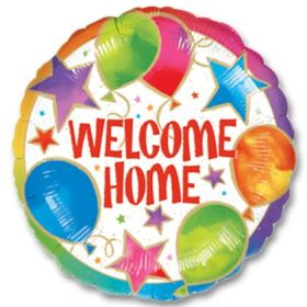 Welcome Home Mylar Party Balloon from Balloons Shop NYC
